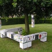 Kunstwerk Sint-Hubrechtsplein