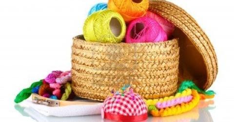 Handwerk met naaibegeleiding